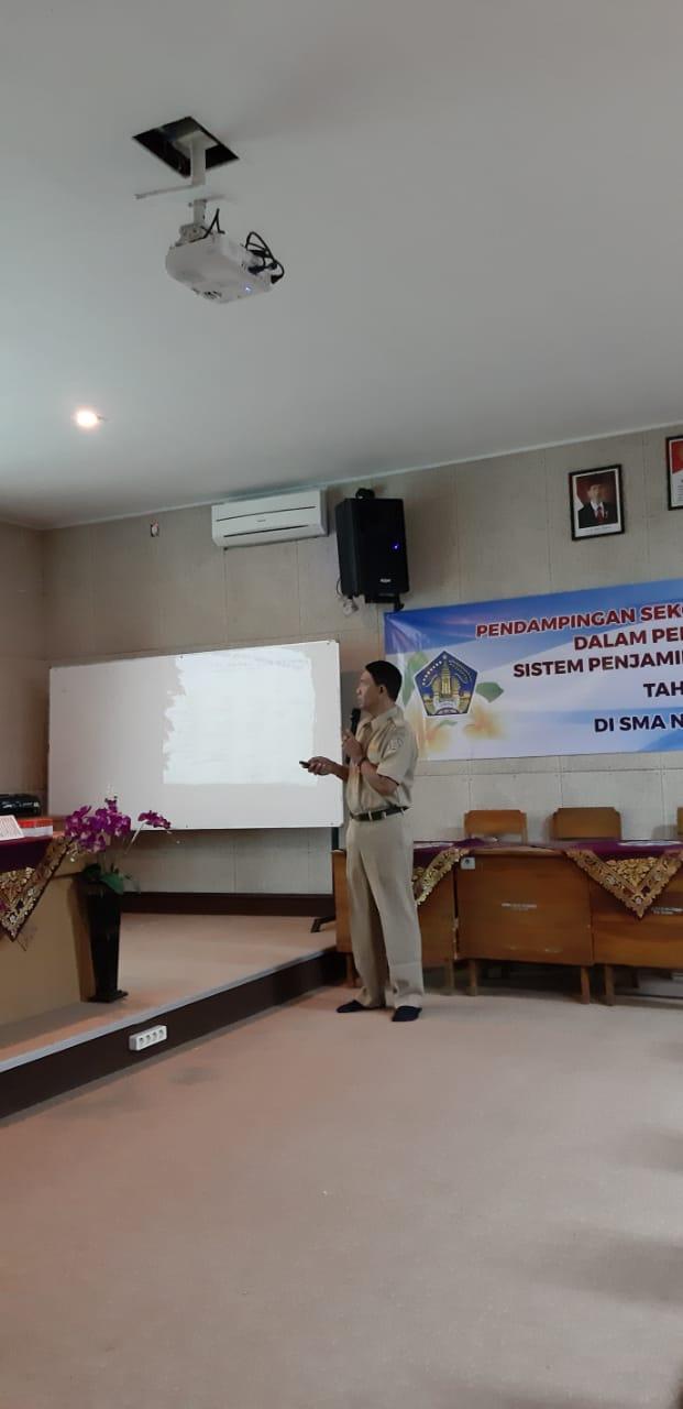 Workshop pendampingan sekolah yang difasilitasi dalam pengembangan sistem penjaminan mutu internal Th 2019