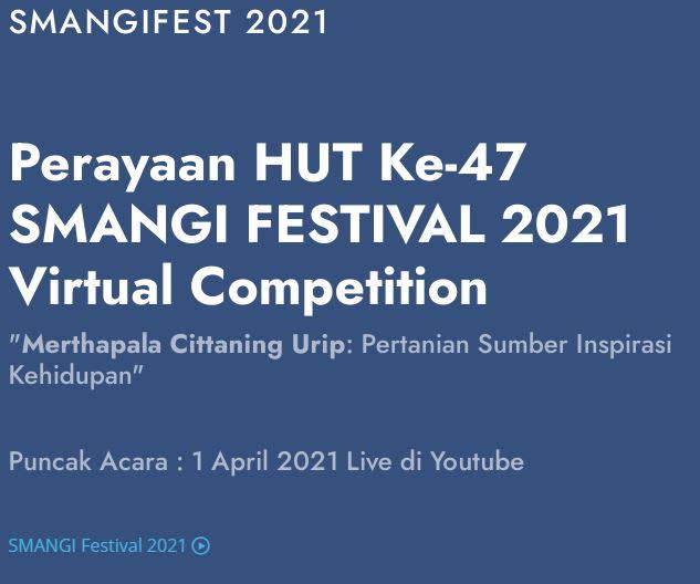Siswa berprestasi pada SMANGI Festival 2021
