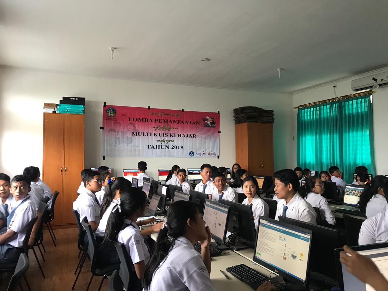 Kuis kihajar 2019 diikuti siswa/siswi terbaik se kabupaten badung